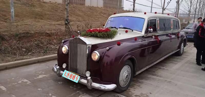 武汉到咸宁孝感荆州加长老爷车出租拉风婚礼头车