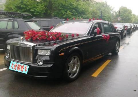 顶级豪华婚车租赁就找大唐朝婚车公司