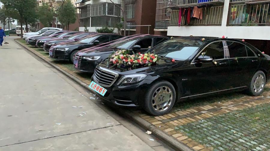 武汉结婚租婚车车队到大唐朝各种婚车车型齐全
