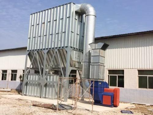 环保除尘设备木工车间布袋除尘器技术参数