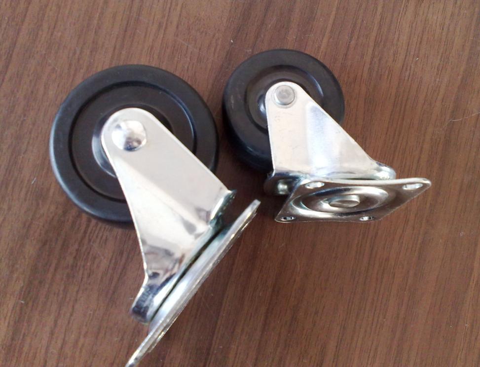 供应脚轮  1.5寸脚轮  2寸脚轮  脚轮厂家