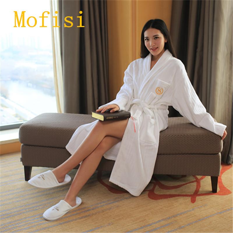 毛巾布浴袍