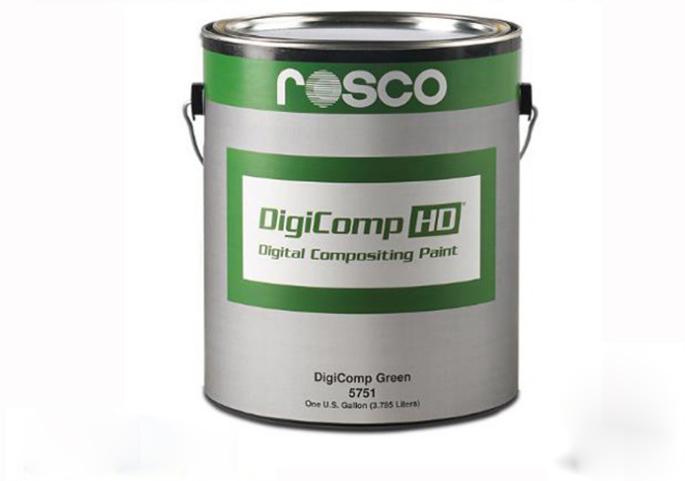 高清绿箱漆5751/标准色抠像漆
