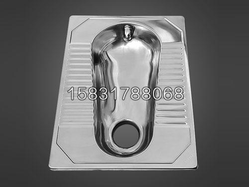 不锈钢一体蹲便1.2厚板材一体冲压工艺 监狱用不锈钢厕具