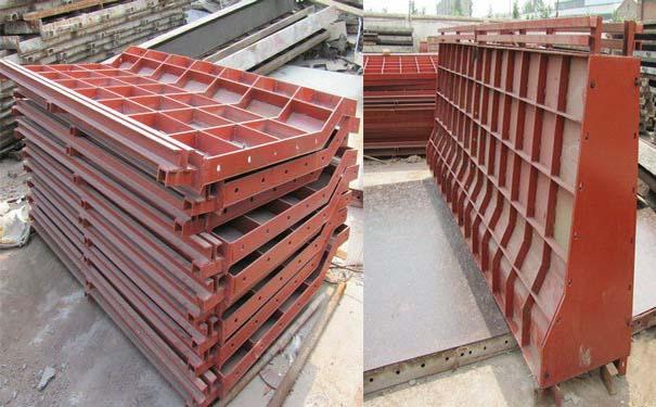 护栏模板出租,防撞护栏模板租赁,桥梁护栏钢模板厂家-山东经纬