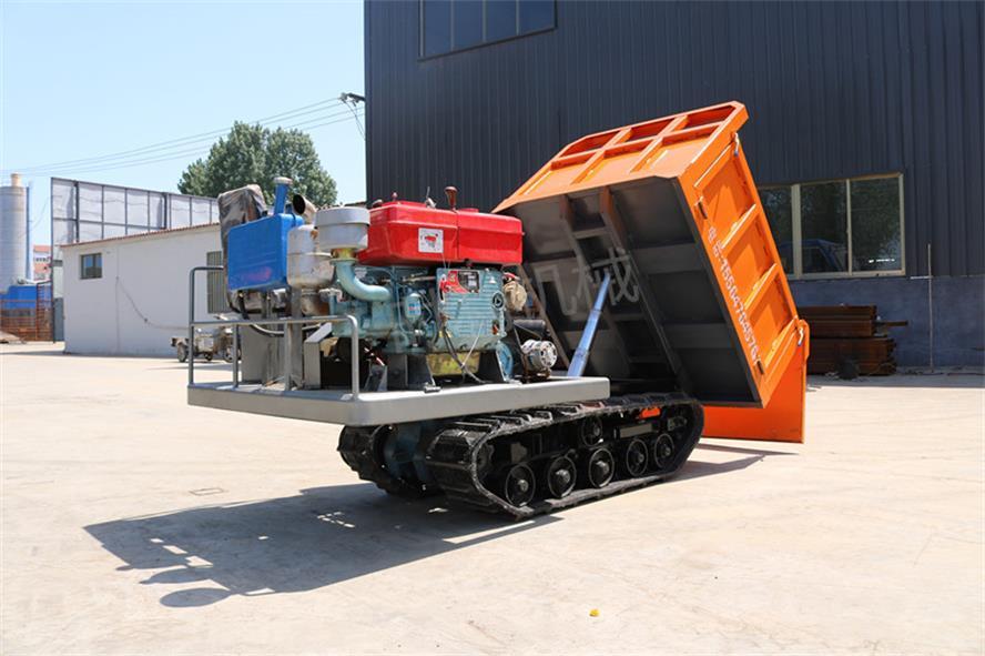 山西8吨高速履带运输车 水田拉水泥翻斗车哪有卖