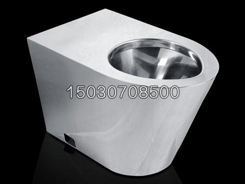 304不锈钢马桶监狱用安全型不锈钢坐便器