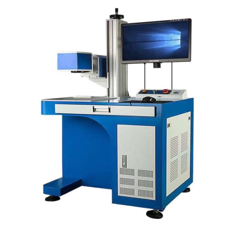 二氧化碳激光打标机木材激光刻字机器木制礼品盒激光打标机