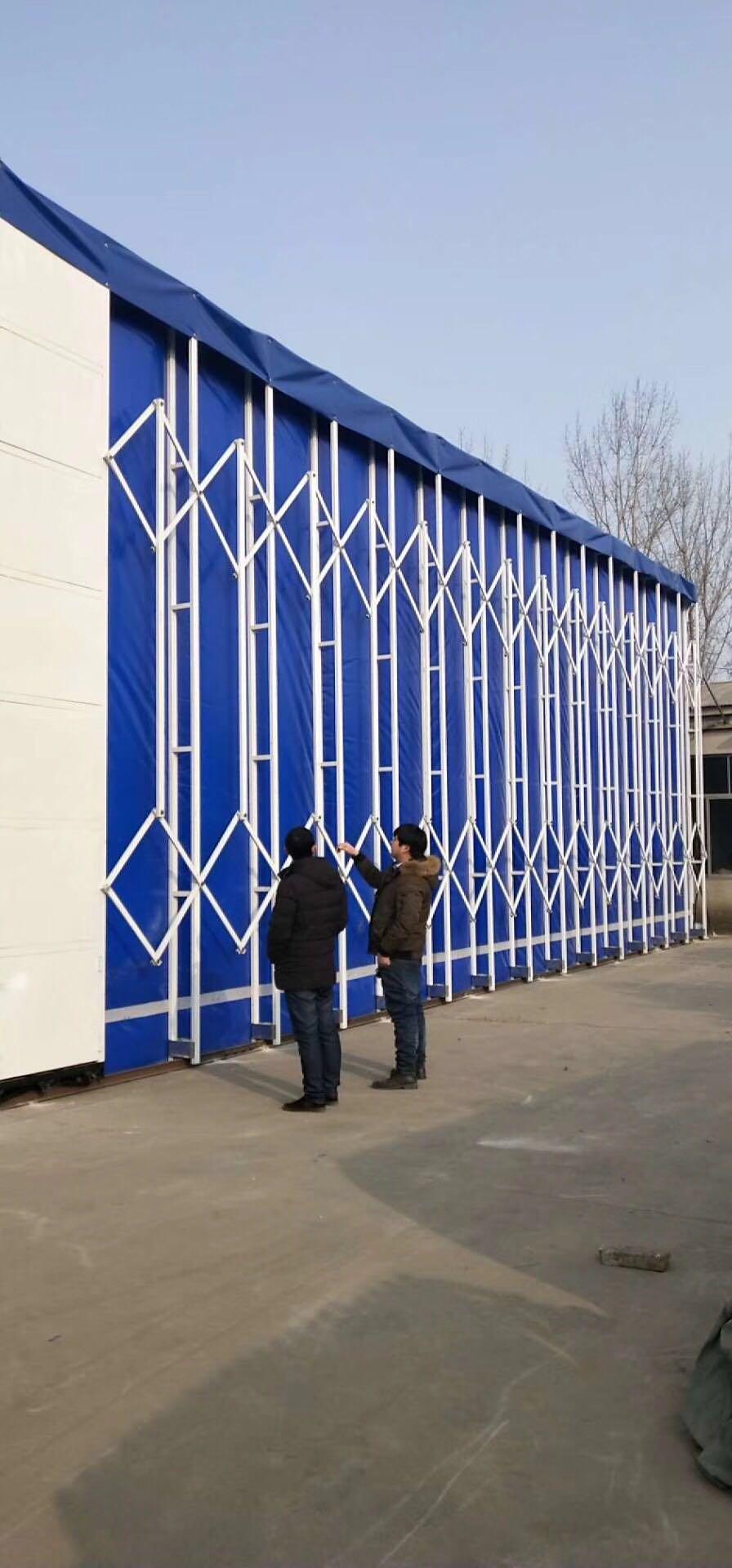 伸缩移动喷漆房结构特点和用途