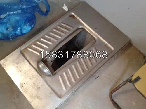 农村户厕改造推拉式不锈钢蹲便器