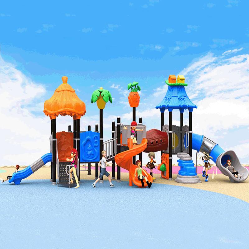 温州悠奇儿批发定制幼儿园户外大型攀爬玩具游乐园时尚不锈钢组合